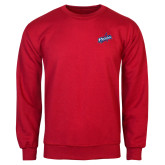 Red Fleece Crew-Patriots Star