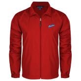 Full Zip Red Wind Jacket-Patriots Star