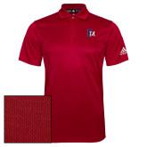Adidas Climalite Red Grind Polo-Interlocking FM