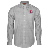 Red House Grey Plaid Long Sleeve Shirt-Interlocking FM