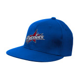 Royal OttoFlex Flat Bill Pro Style Hat-Patriots Star