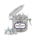 Kissable Creations Small Round Canister-Patriots Star
