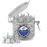 Kissable Creations Round Canister-Patriots Star