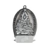 Pewter Tree Ornament-Patriots Star Engraved