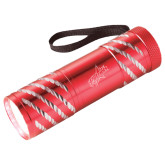 Astro Red Flashlight-Patriots Star Engraved