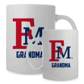 Full Color White Mug 15oz-Grandma FM
