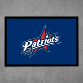 Full Color Indoor Floor Mat-Patriots Star