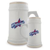 Full Color Decorative Ceramic Mug 22oz-Patriots Star
