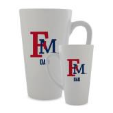 Full Color Latte Mug 17oz-Dad FM