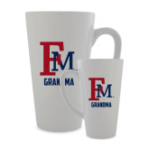 Full Color Latte Mug 17oz-Grandma FM