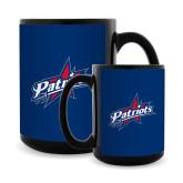 Full Color Black Mug 15oz-Patriots Star