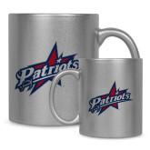 Full Color Silver Metallic Mug 11oz-Patriots Star