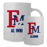 Alumni Full Color White Mug 15oz-Alumni FM