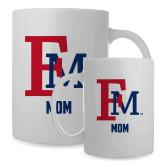 Mom Full Color White Mug 15oz-Mom FM