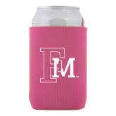 Collapsible Hot Pink Can Holder-Interlocking FM