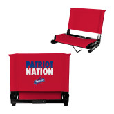 Stadium Chair Red-Patriot Nation