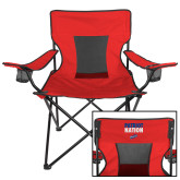Deluxe Red Captains Chair-Patriot Nation