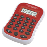 Red Large Calculator-Flat