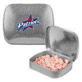 Silver Rectangular Peppermint Tin-Patriots Star