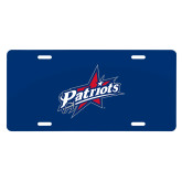 License Plate-Patriots Star