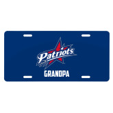 License Plate-Grandpa
