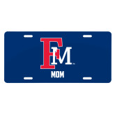 License Plate-Mom FM
