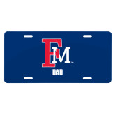 License Plate-Dad FM