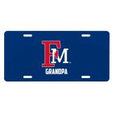 License Plate-Grandpa FM