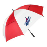 62 Inch Red/White Vented Umbrella-Patriots Star