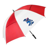62 Inch Red/White Vented Umbrella-The Patriot