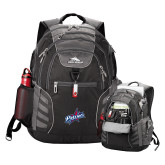 High Sierra Big Wig Black Compu Backpack-Patriots Star