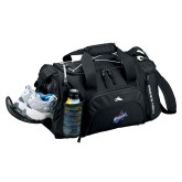 High Sierra Black Switch Blade Duffel-Patriots Star