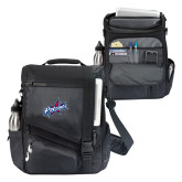 Momentum Black Computer Messenger Bag-Patriots Star