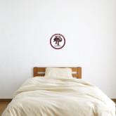 1 ft x 1 ft Fan WallSkinz-FP Athletics Circle