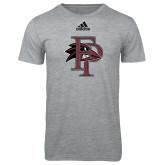 Adidas Sport Grey Logo T Shirt-Athletic FP