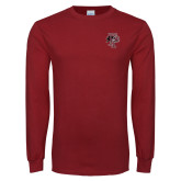 Cardinal Long Sleeve T Shirt-Athletic FP
