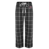 Black/Grey Flannel Pajama Pant-Athletic FP