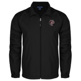 Full Zip Black Wind Jacket-Athletic FP