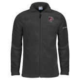Columbia Full Zip Charcoal Fleece Jacket-Athletic FP