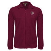 Fleece Full Zip Maroon Jacket-Athletic FP