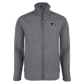Grey Heather Softshell Jacket-Athletic FP