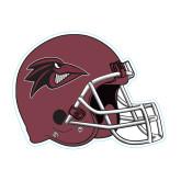 Football Helmet Magnet-Raven Head
