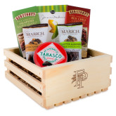Wooden Gift Crate-Athletic FP Engraved