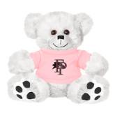 Plush Big Paw 8 1/2 inch White Bear w/Pink Shirt-Athletic FP