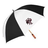 62 Inch Black/White Vented Umbrella-Athletic FP