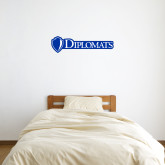 1 ft x 3 ft Fan WallSkinz-Diplomats Flat Logo
