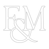 Large Decal-F&M, 12 inches wide