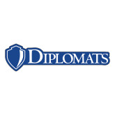 Large Decal-Diplomats Flat Logo, 12 inches wide