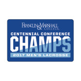 Small Decal-2017 Centennial Conference Champions Mens Lacrosse