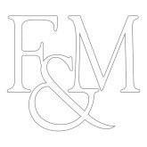 Extra Large Decal-F&M, 18 inches wide